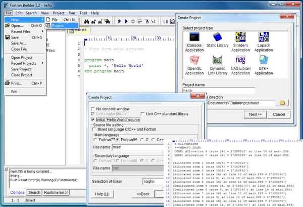 fortran90编译器_NAG Fortran 编译器 - Fortran 编译器 - Fortran Coder 程序员聚集地